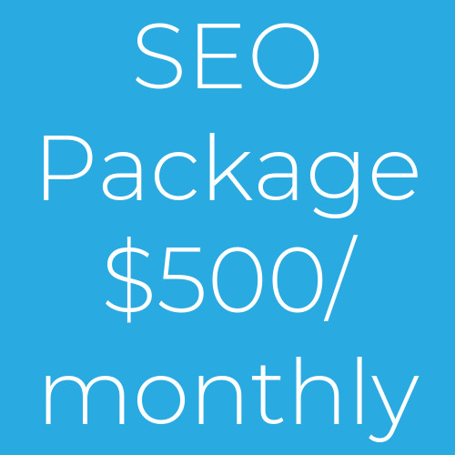 Monthly SEO Package 500
